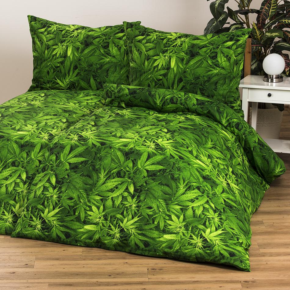 Zľava  4Home bavlnené obliečky Aromatica s prestieradlami, 140 x 200 cm, 70 x 90 cm, 140 x 200 cm, 70 x 90 cm, 140 x 240 cm