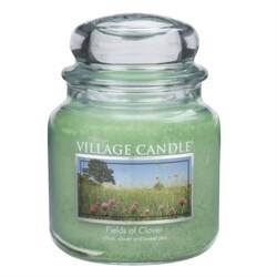 Village Candle Vonná svíčka Zelená louka - Fields of Clover, 397 g