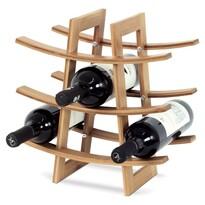 Stojan na víno TRI, bambus