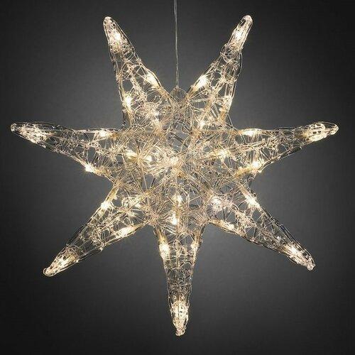 Vianočná 7-cípa hviezda pr. 45 cm, 32 LED