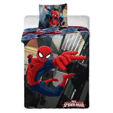 Dětské bavlněné povlečení Spiderman new, 140 x 200 cm, 70 x 90 cm