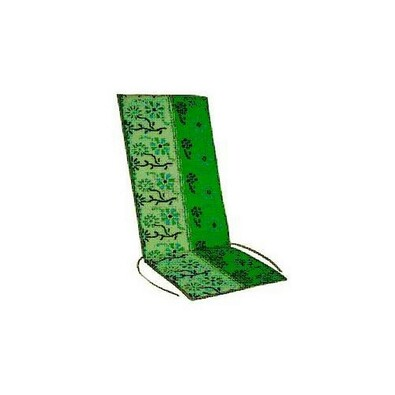 Podsedák zahradní 37 x 110 x 2 cm, zelený