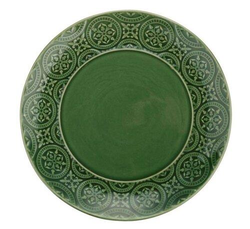 Florina Talerz ceramiczny deserowy Nadine 20 cm, zielony