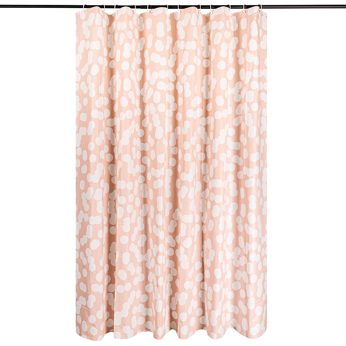 Sprchový záves Romance ružová, 180 x 180 cm