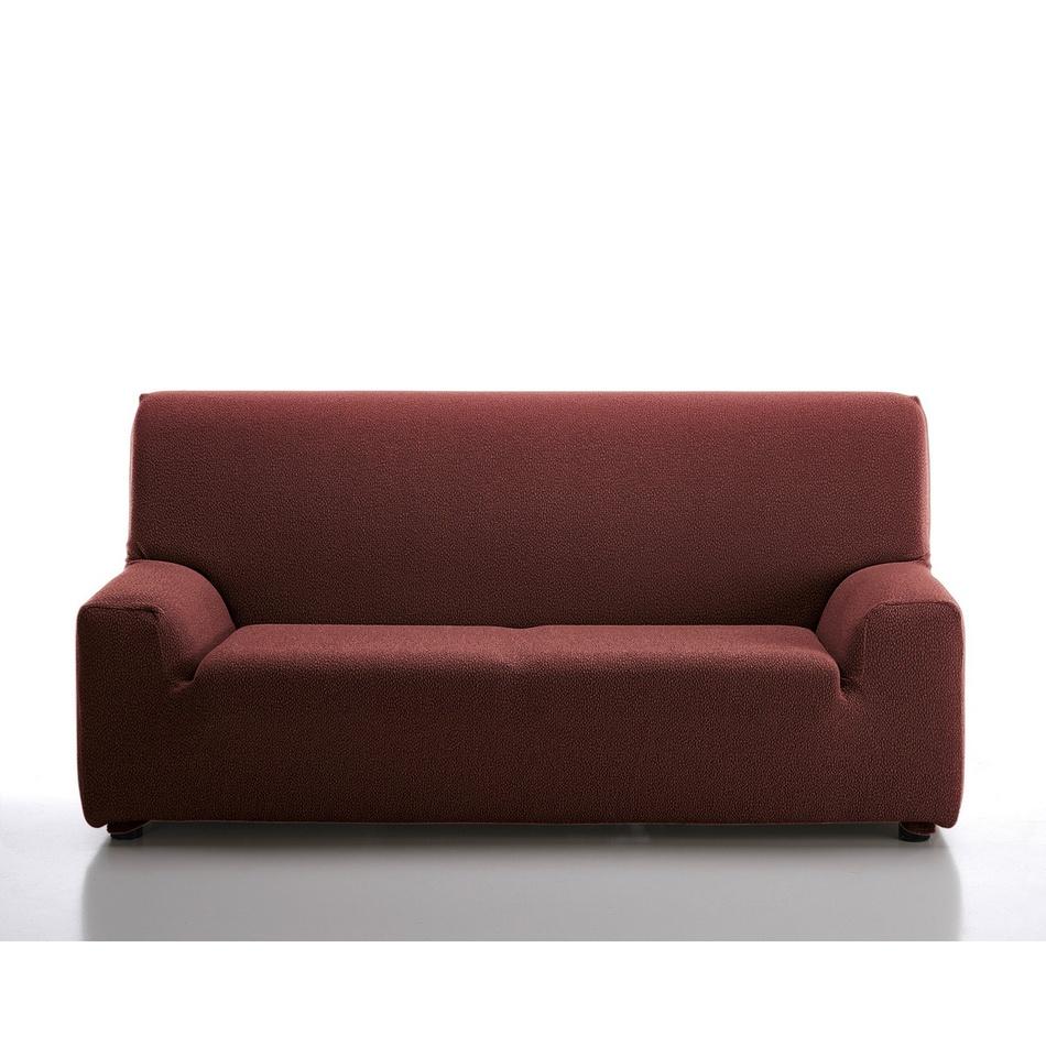 Husă elastică de canapea Petra, roșu, 240 - 270 cm imagine 2021 e4home.ro