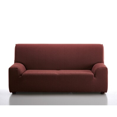 Multielastický poťah na sedaciu súpravu Petra červená, 240 - 270 cm