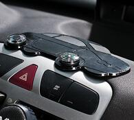 Protiskluzová podložka do auta, černá, 17,5 x 10 cm