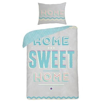 Bavlněné povlečení Home Sweet Home, 140 x 200 cm, 70 x 90 cm