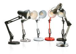 Leitmotiv stolní lampa LM927 tmavě šedá
