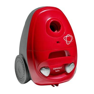 Concept VP8350 vreckový vysávač Bello 700 W, červená