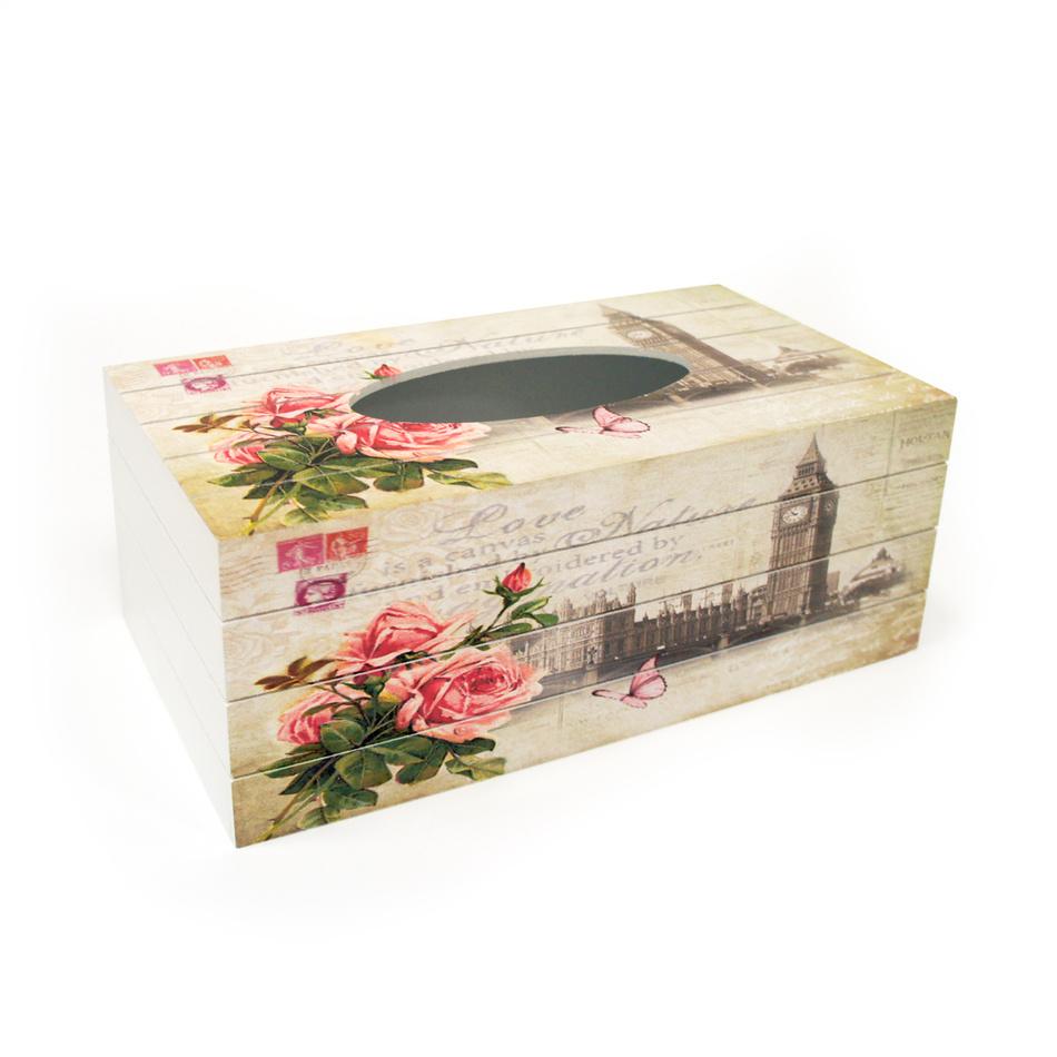 Krabička na vreckovky Tower, KP8728
