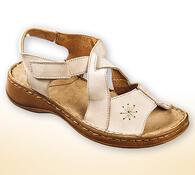 Orto Plus Dámské sandály s přezkou vel. 39 lososová