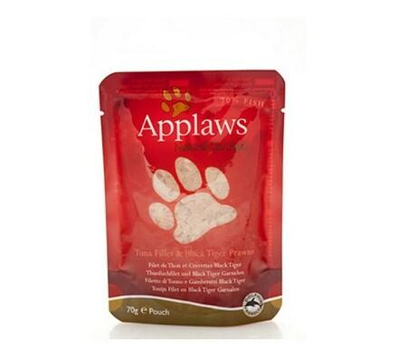 Sada 3 kusů Applaws kapsičky pro kočky tuňák a tyg