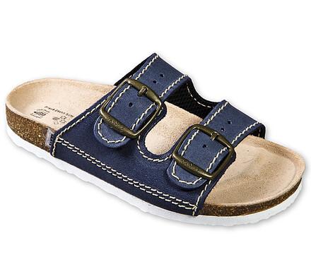 Dětské zdravotní pantofle, modrá, 34