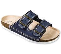 Dětské zdravotní pantofle, modrá, 35