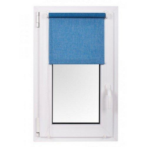 Roleta MINI Rainbow Line niebieski 97 x 150 cm