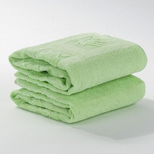 Ručník Nina světle zelená, 50 x 90 cm, sada 2 ks