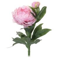 Umelá kvetina Pivonka svetloružová, 61 cm
