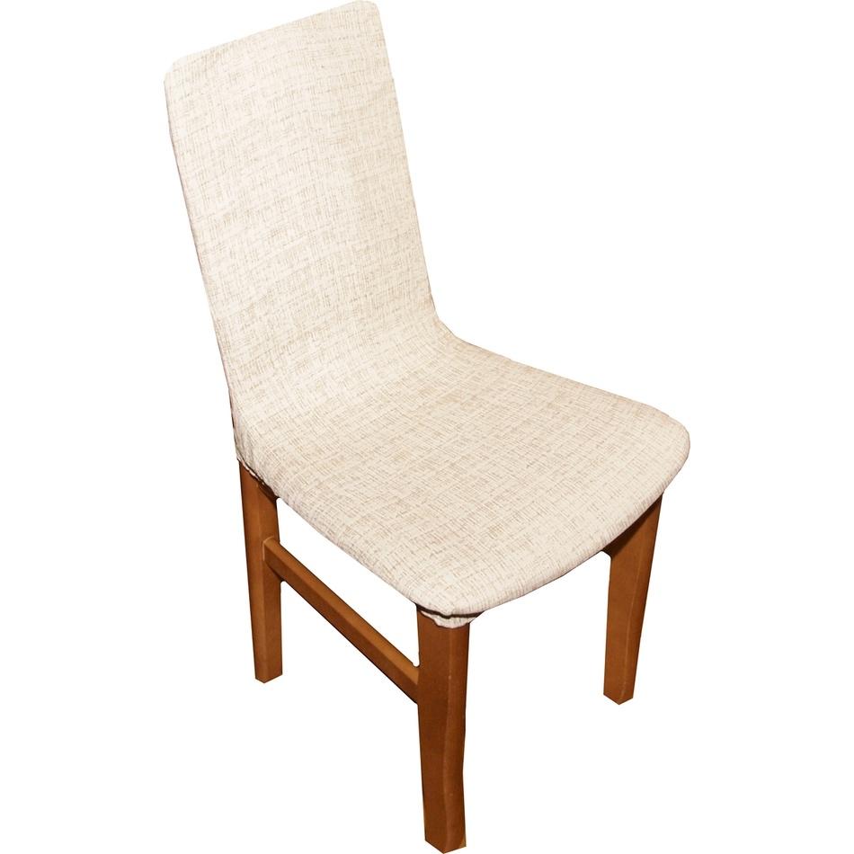 Forbyt Poťah Andrea na stoličku béžová