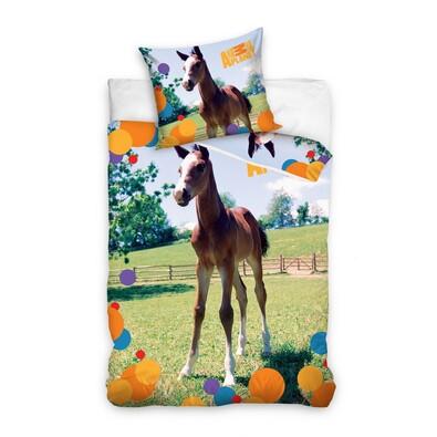 Bavlnené obliečky Animal Planet Žriebä, 160 x 200 cm, 70 x 80 cm