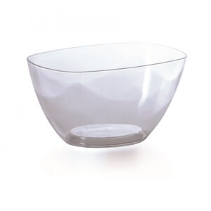 Prosperplast Dekorativní miska Coubi čirá, 20 cm, 20 cm