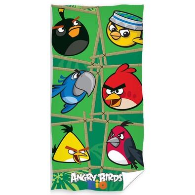 Osuška Angry Birds Green, 70 x 140 cm