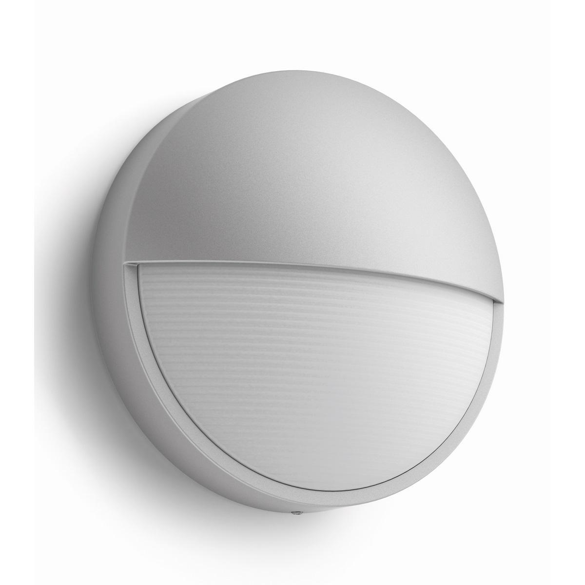 Philips 16455/87/16 Capricorn Vonkajšie nástenné LED svietidlo 21 cm, sivá