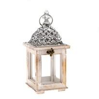 Drevený lampáš Ava, 13 x 28,5 x 13 cm