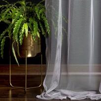 DecoKing Záclona Elie sivá, 140 x 250 cm