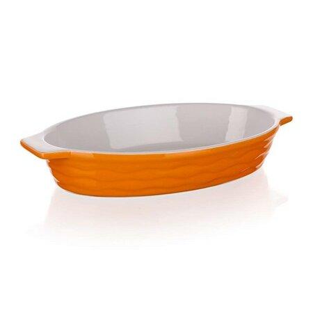 Formă de copt ovală Banquet Culinaria Orange 26 x 14 cm