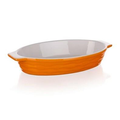 Formă de copt ovală Banquet Culinaria Orange 26x14cm