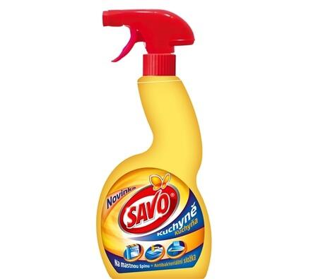 Savo Kuchyně tekutý čistič rozprašovač 500 ml