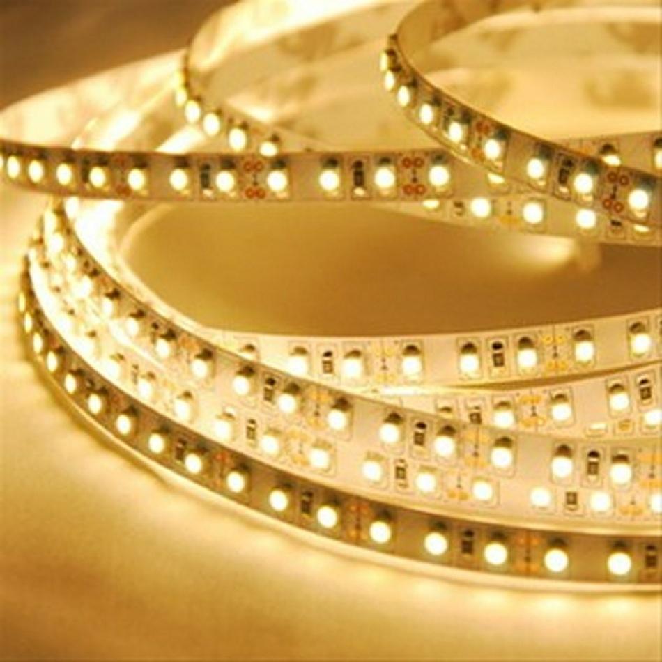 Solight LED světelný pás 5m, 12V adaptér, 4,8W/m, IP20, teplá bílá (WM51)