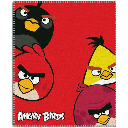 Detská deka Angry Birds 095, 120 x 150 cm