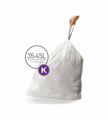 Simplehuman Worki do kosza na śmieci K 35-45 l, 20 szt.