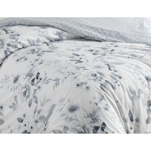 BedTex Bavlnené obliečky Rujan sivá, 140 x 200 cm, 70 x 90 cm