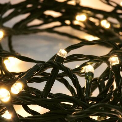 Vánoční LED řetěz venkovní, teplá bílá 5 m
