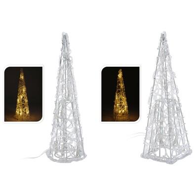 Svitící pyramida 30 cm