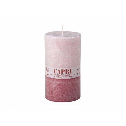 Stearinová svíčka Capri Duo Černý rybíz