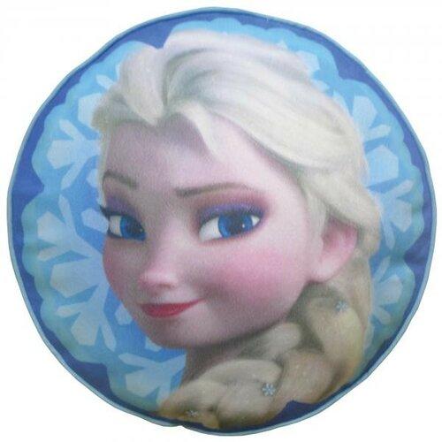 CTI Plyšový polštář Frozen Elsa Ledové království prům.36