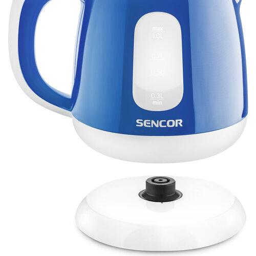 Sencor SWK 1012BL rychlovarná konvice, modrá