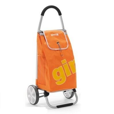Gimi Galaxy nákupní taška na kolečkách oranžová