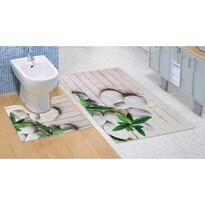 Kúpeľňová predložka Jadran 3D, 60 x 100 + 60 x 50 cm