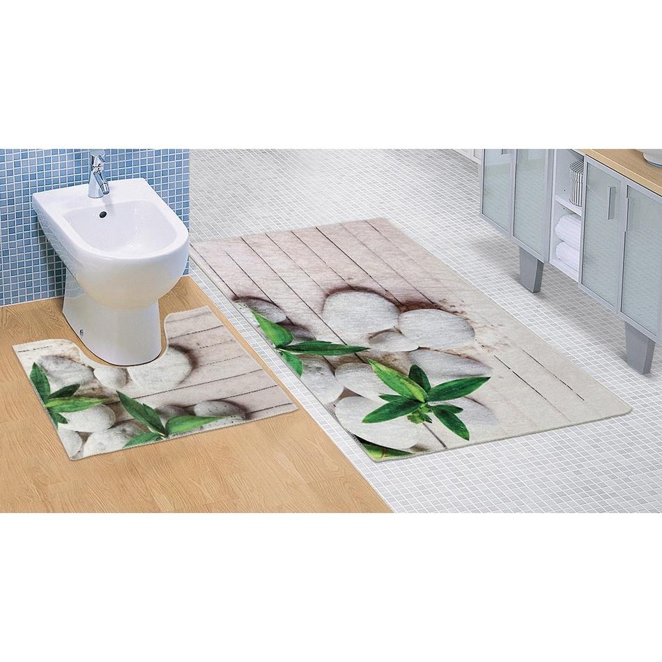 Bellatex Koupelnová předložka Jadran 3D, 60 x 100 + 60 x 50 cm