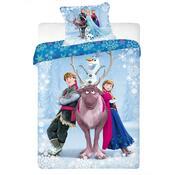 Detské bavlnené obliečky Ľadové Kráľovstvo (Frozen), 140 x 200 cm, 70 x 90 cm