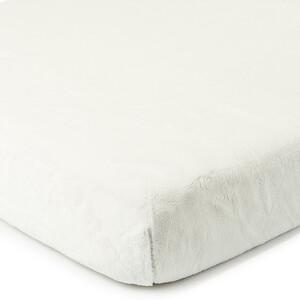 4Home prostěradlo mikroflanel bílá, 90 x 200 cm