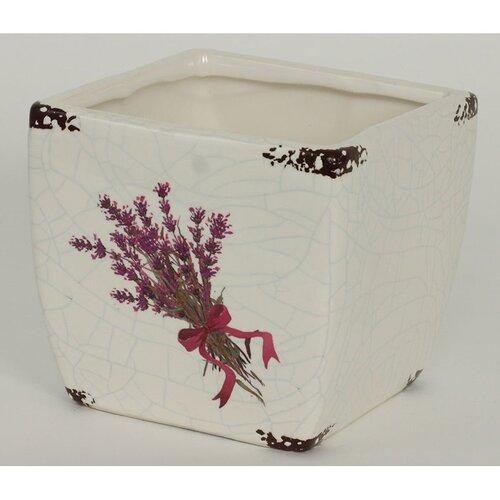 Osłonka ceramiczna na doniczkę Melle, 12,5 cm