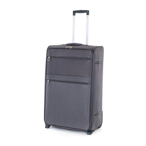 Pretty UP Utazó bőrönd, textil TEX15 L, szürke