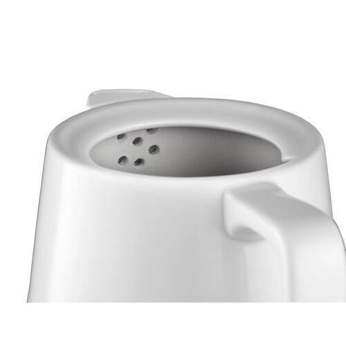 Concept RK0060 keramická rychlovarná konvice 1 l, bílá