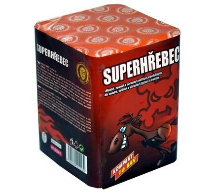 Super hřebec - 16 ran